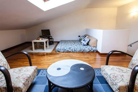 Large attic room near Lake! - 法諾(Fano) - 連棟住宅