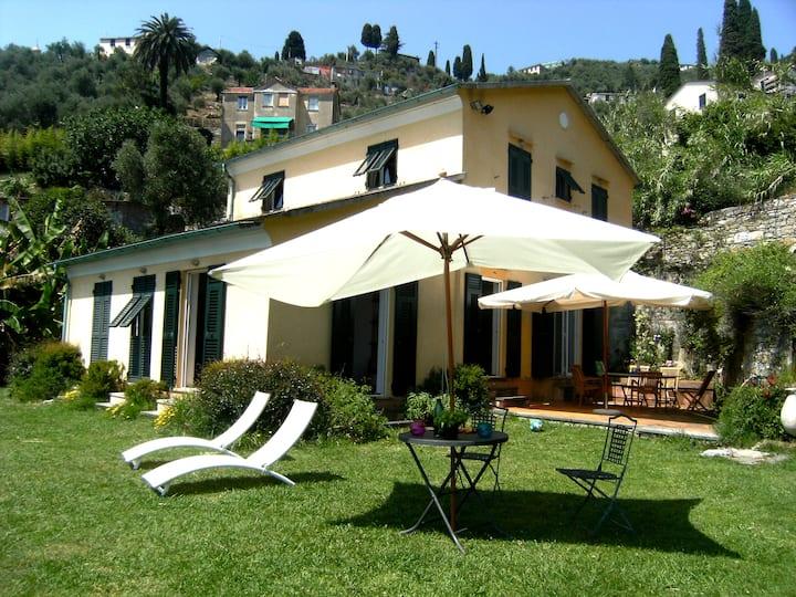 Villa a Zoagli Cornice di Portofino con piscina
