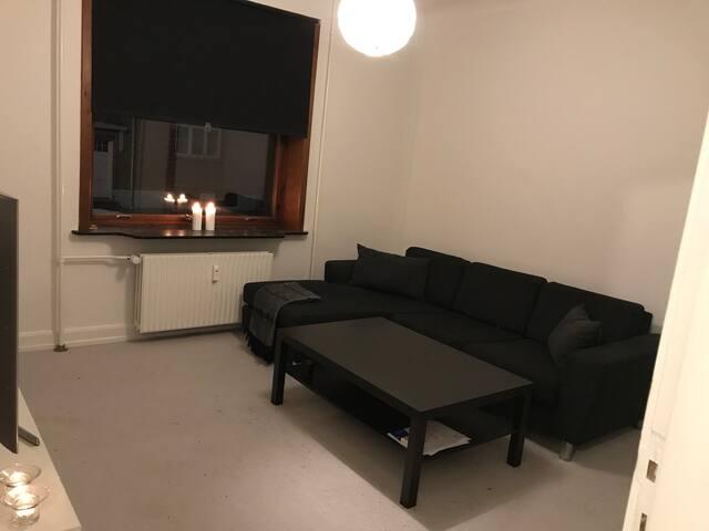 Hyggelig 3 værelses lejlighed nær Aalborg centrum