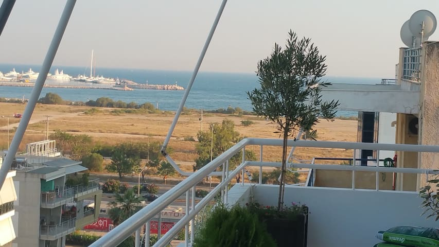 Lux apartment - Sea/Akropolis view! - Moschato - Daire