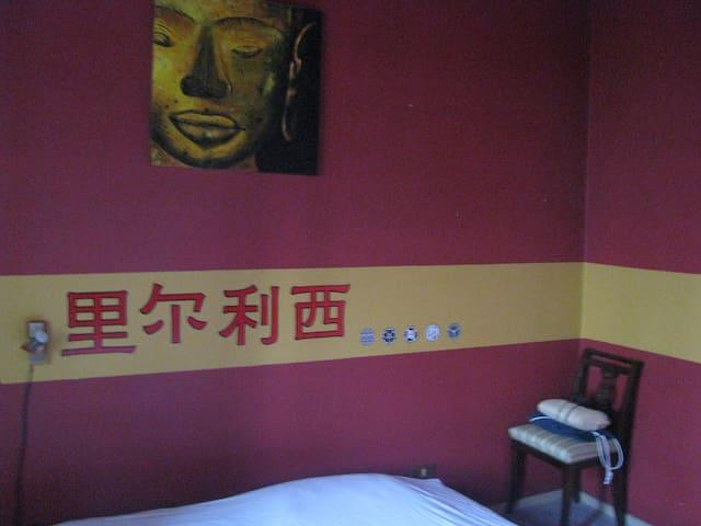 Accogliente stanza matrimoniale 2p - Borgovirgiliana - Wohnung