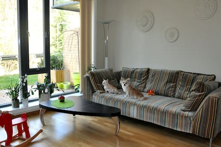 Bright double room - Bergen - Apartmen