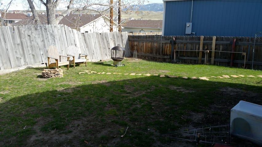 Tent site 3 - Casper - Zelt