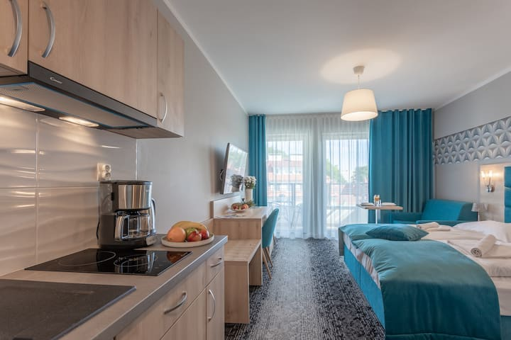 Wyspiańskiego 34 E Apartament 766 dla 3 osób