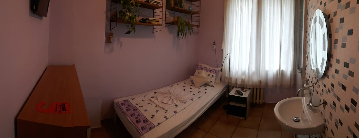 Single room with balkony