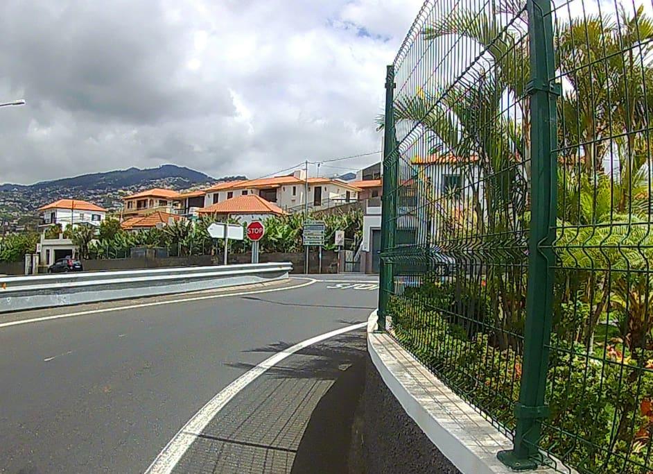 Saida da via rapida ER101 para Santa Rita ( São Martinho )