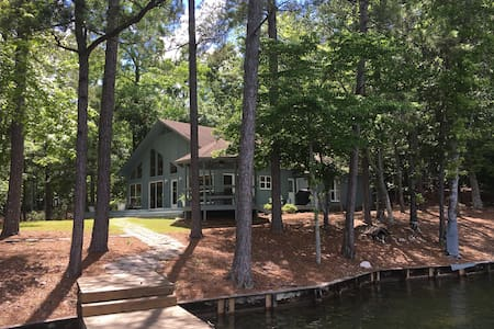 Private Lake Martin Home on Nero's Point