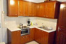 Studio apartment 200m from beach- A/C- WiFi-Garden