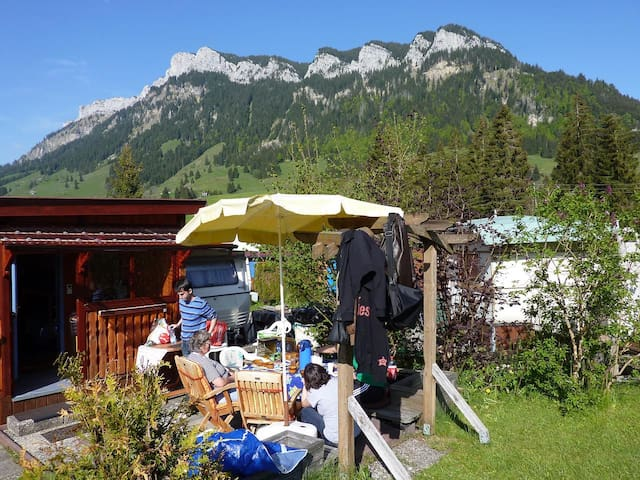 Ski holiday / Hiking Holiday on a campground - Flühli - Camper/RV