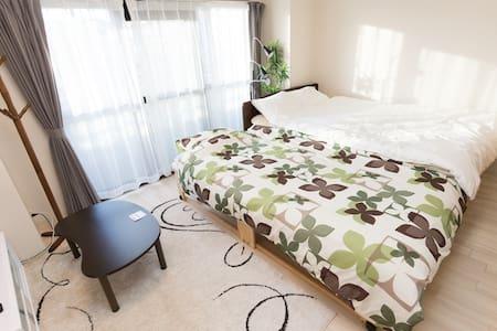 【한국어 가능】오사카!버스정류장 까지 도보 단 2분!최대 8명까지 숙박가능!홈 인터넷 제공 - Sumiyoshi-ku - Appartement