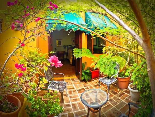 Colonial Rooms w/ Private Patio - San Juan - House