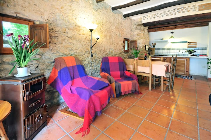 Lorca cottage, Mas Sant Nicolau. Pool, tennis