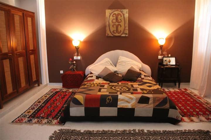 Dar Omi - African room