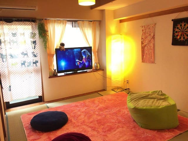 1min walk from station! So cute 2LDK rooms!