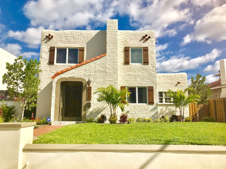 This Historic Spanish style home combines the unique beauty of Old Northwood with amazing modern furnishings and decor.  You will fall in love with this home :)