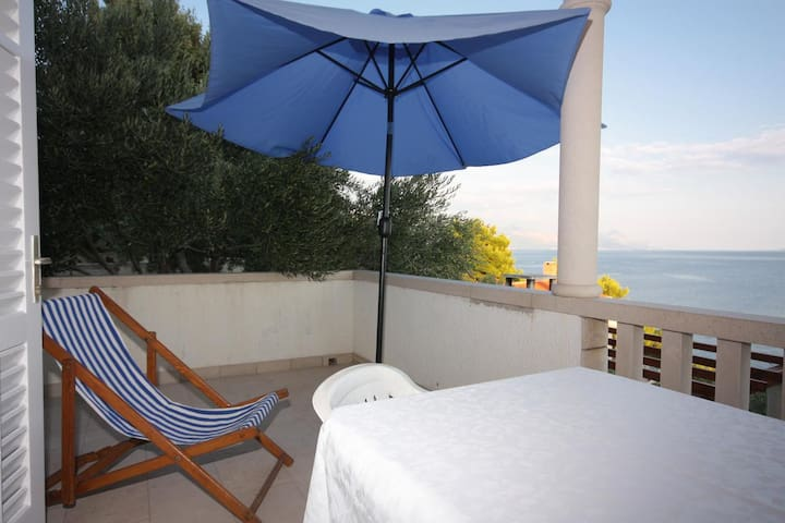 Two bedroom apartment with terrace and sea view Puntinak, Brač (A-718-c)