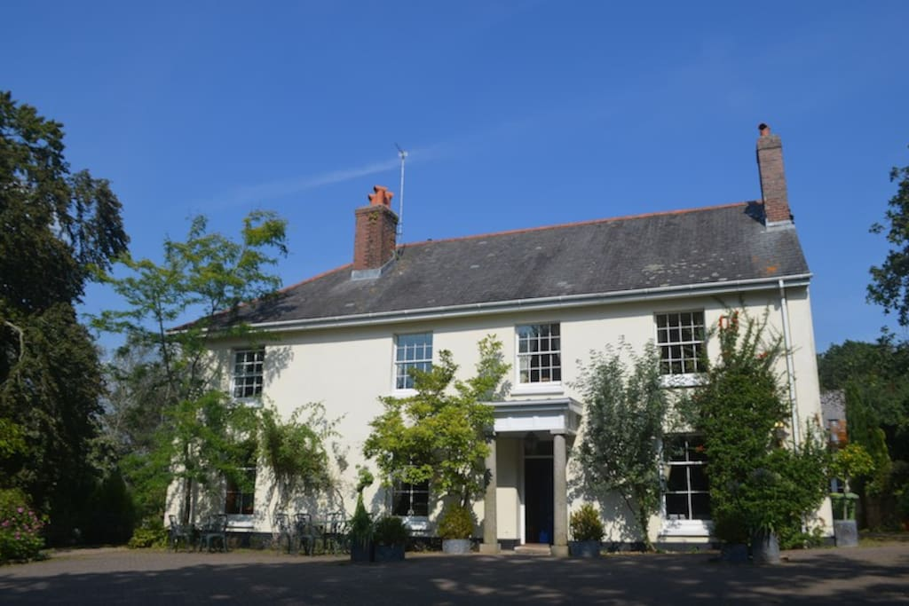 Western House Devon Georgian Family House Houses For Rent In Newton Abbot