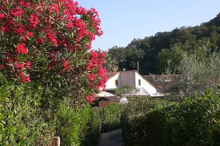 maison climatisée avec terrasse ext. couverte - Villeneuve-Loubet
