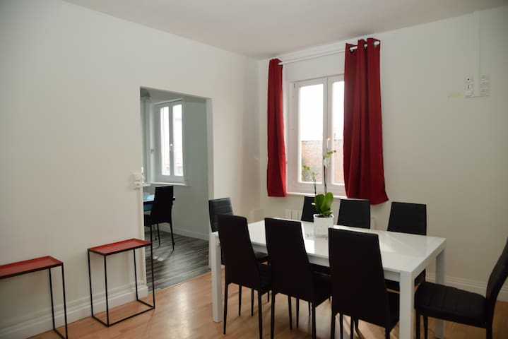 Appartement famillial n°10 - Douai - Apartemen