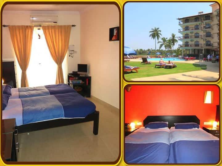 03) Luxury Serviced Studio Close To The Beach - Baga