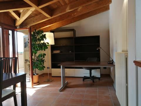 Fin lägenhet i lugnt trevligt område i Reggio Emilia