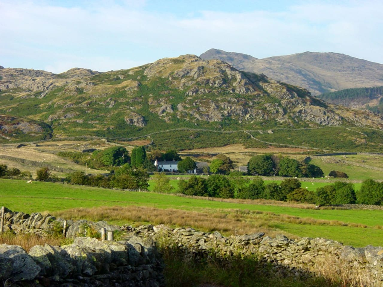 The house is nestled in the fells with no immediate neighbours