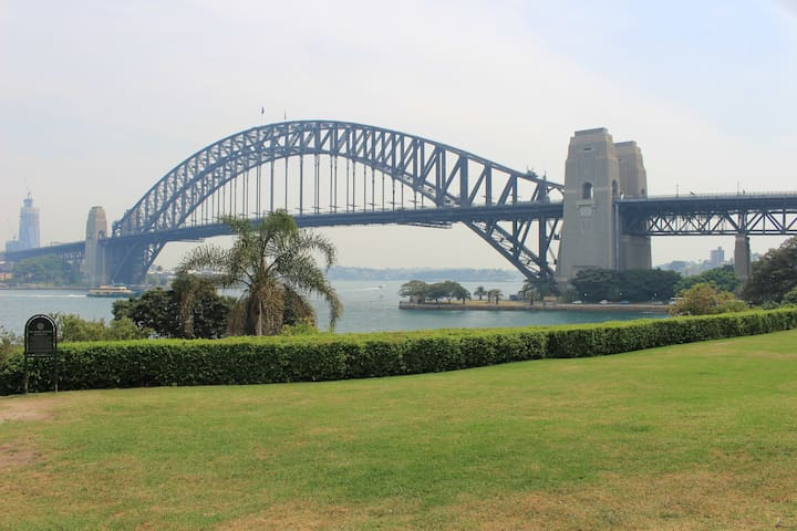 Dream view to Opera House & Harbour Bridge!