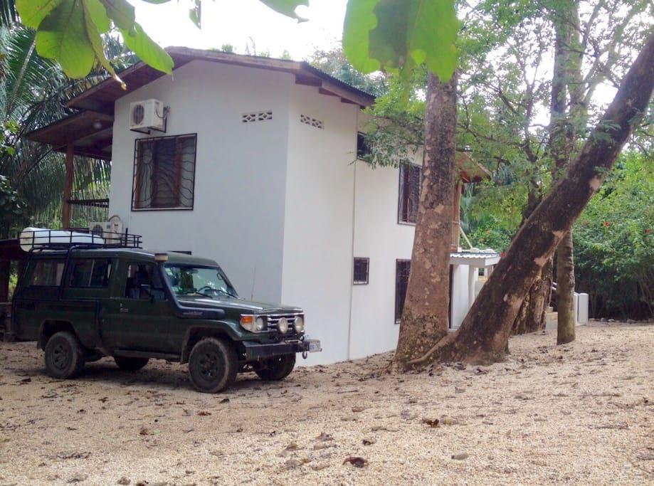 Casa Arboles is a detached duplex home.