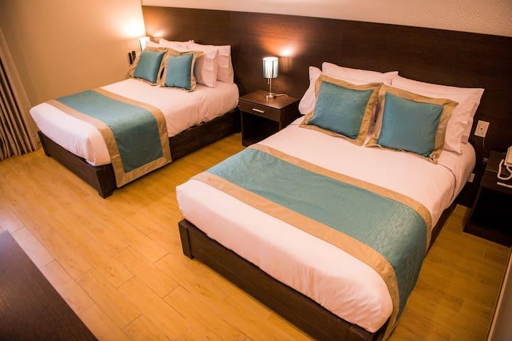 Luxury Double Bed&Breakfast Meet Lima Center