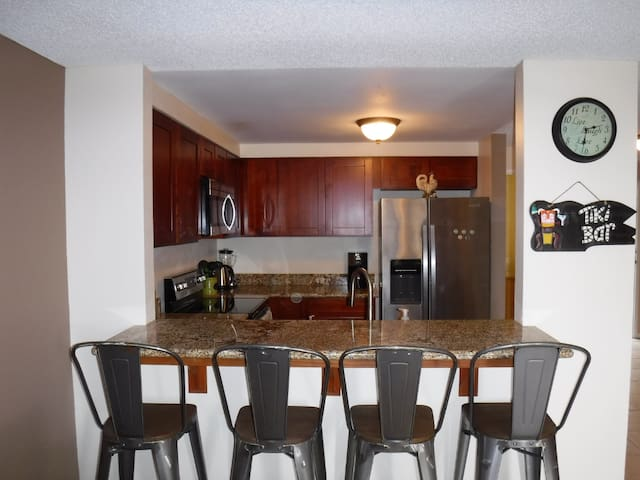 Fully furnished min 6 months Across From The Beach
