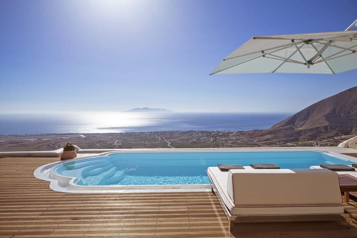 Two bedroom Villa with private pool Sea view - Pyrgos Kallistis - Villa
