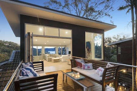 Amazing Beach house with Pittwater views - Clareville