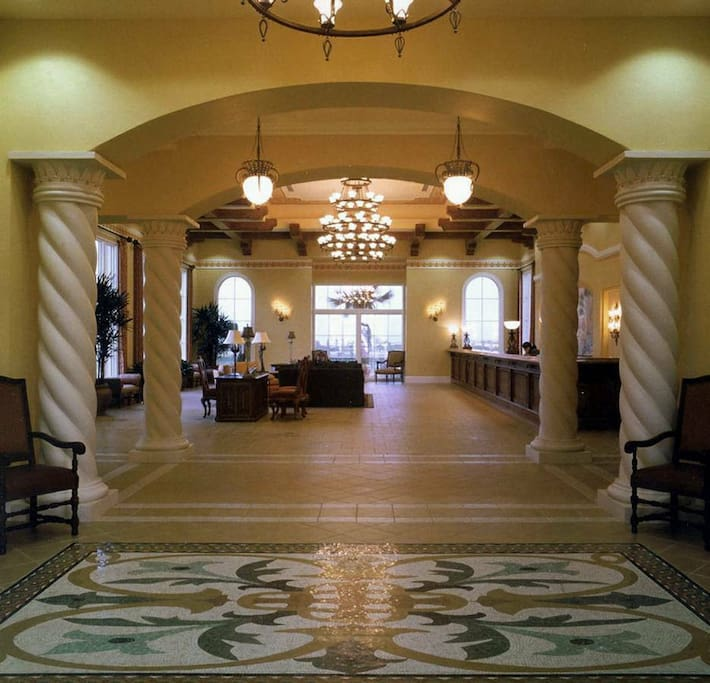 Check in Lobby