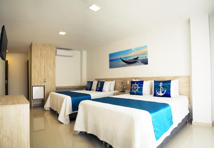 Sea Color Hotel, Junior Suite with Sea View