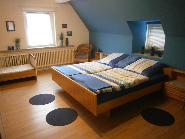 """Ferienwohnung """"An der Schlier"""" (Neuental - Schlierbach) -, Ferienwohnung, 80qm, 2 Schlafzimmer, max. 4 Personen"""