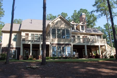 Massive Luxury Reynolds Golf Home  - Greensboro - Hus