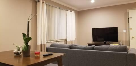 Quiet Cozy 1 BR Apartment - Prime location