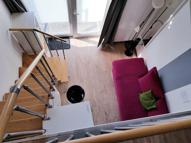 F6 Cooles Maisonette Appartement