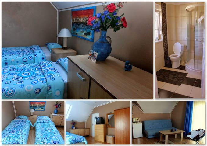 Orzeźwiający błękit - Lubiatowo - Casa
