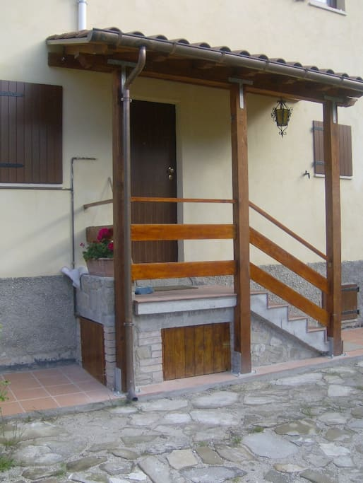 Chalet Sibilla entrance (independent)