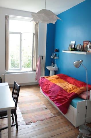 Belle chambre au calme  - Schaerbeek - House