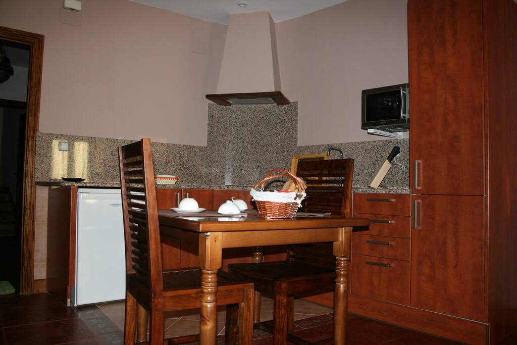Zona de cocina - comedor