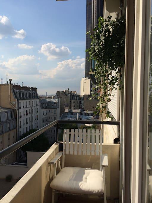 montparnasse vue tour eiffel paris apartments for rent in paris le de france france. Black Bedroom Furniture Sets. Home Design Ideas