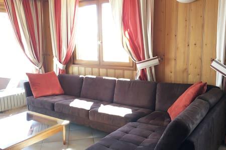 Appartement près des pistes ou des sentiers d'été