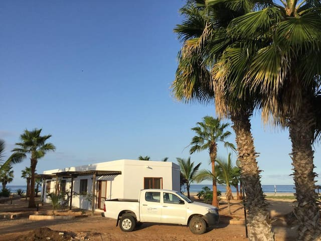 """Caju"" one bedroom House on the beach Praia Chaves - Boa Vista - Rumah"
