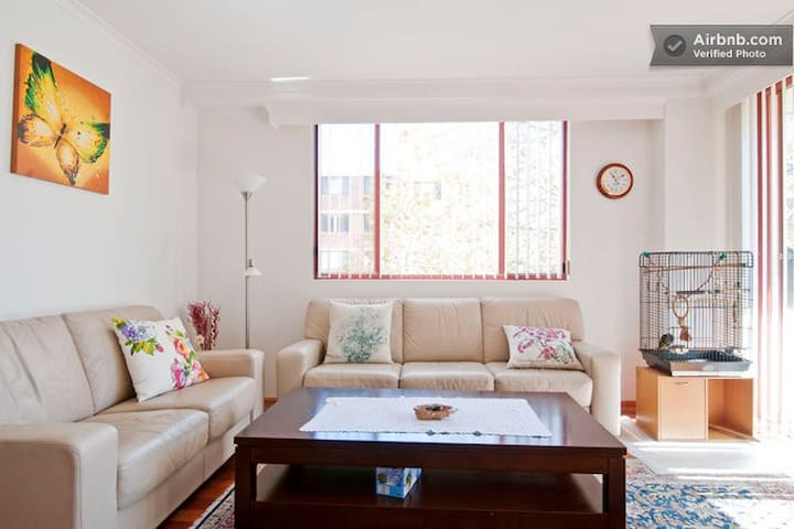 Peaceful 2 bedroom apartment