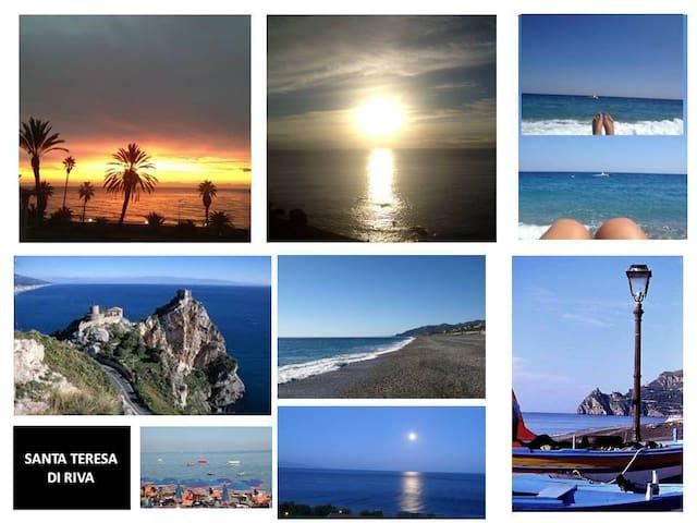 Sicily, near Taormina:beach & tours - Santa Teresa di Riva - Appartement