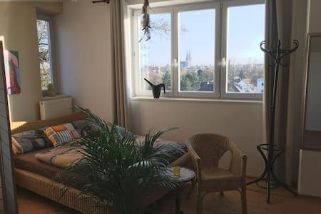 Naturnahes Appartement mit traumhaftem Stadtblick