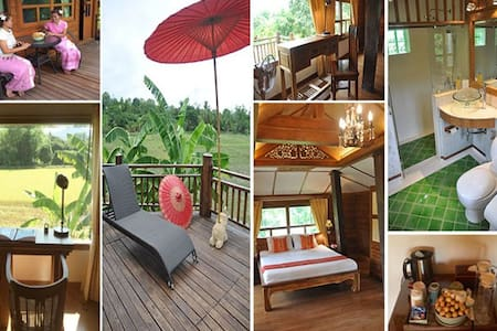 Accommodation Opposite Tao Garden  - Luang Nuea - Bungalow