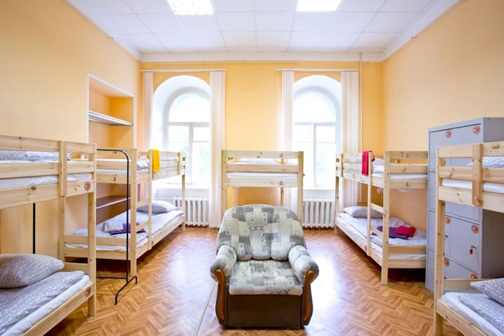 Yaroslav Hostel Dorm with 10 beds - Veliky Novgorod